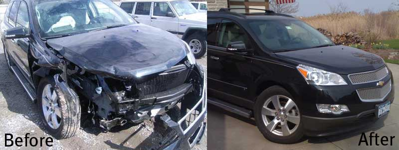 Auto Body Paint Repair